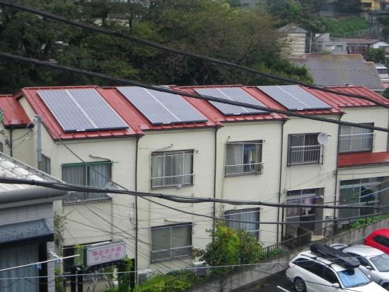 太陽光発電を初受注しました。